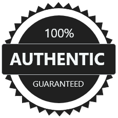 GUARANTEED 100% AUTHENTIC